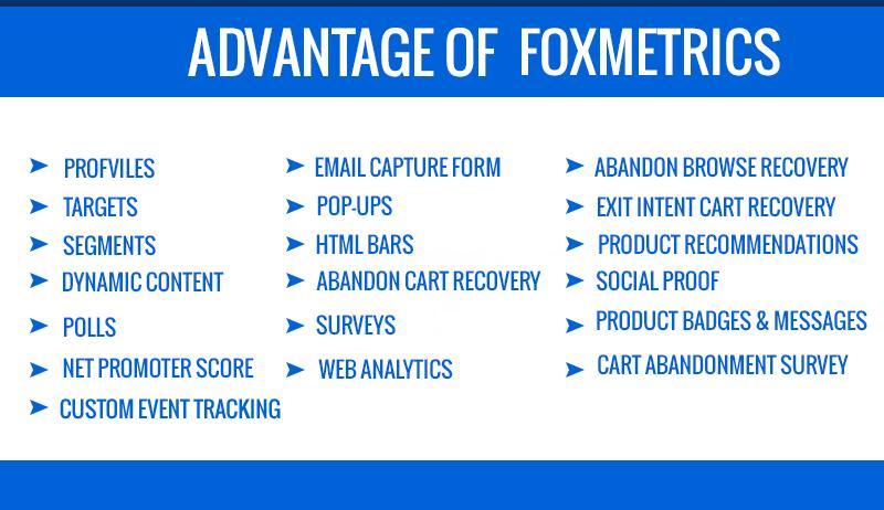 Advantage of FoxMetrics
