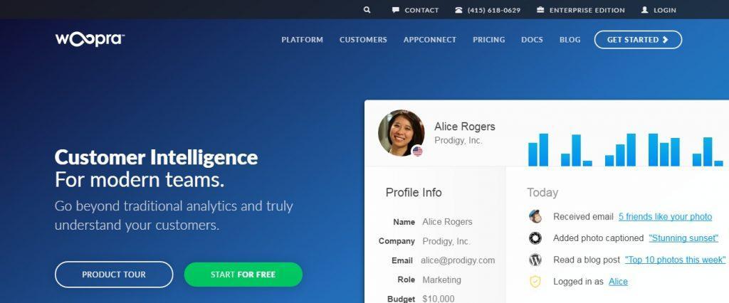 Woopra: Real-time Customer Analytics