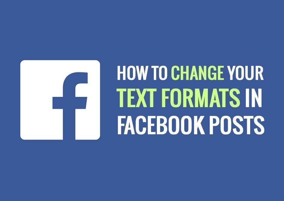 Facebook Format Text