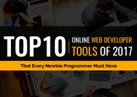 Top 10 Online Web Developer Tools of 2017 That Every Newbie Programmer Must Have