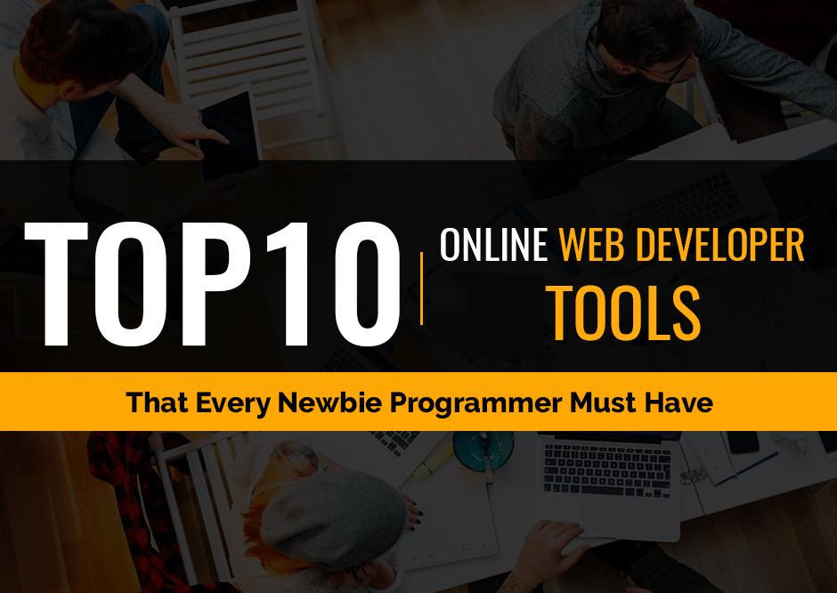 Top 10 Online Web Developer Tools