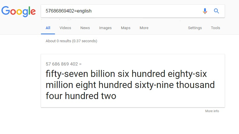 Interesting Google Facts