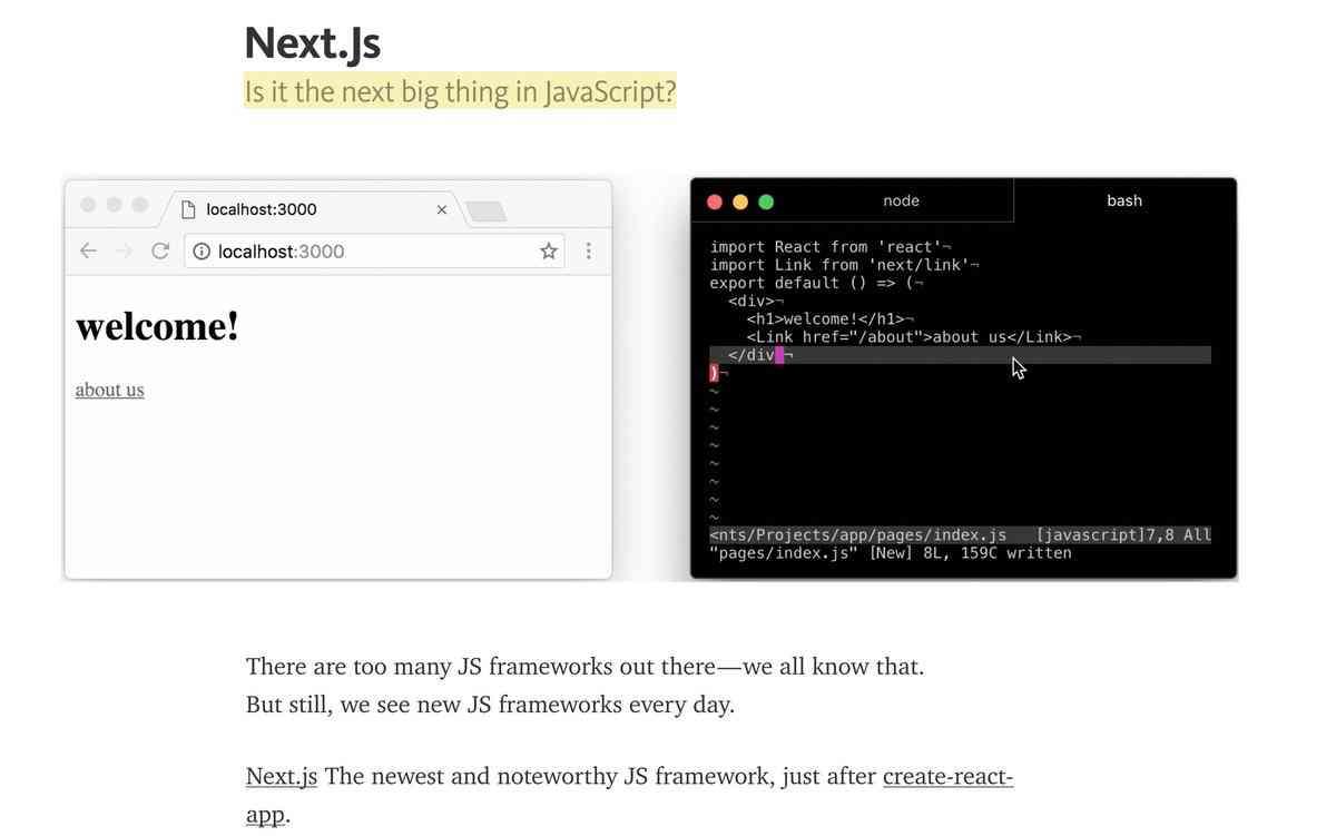 Next.js-framework