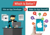 Which Is Better? Hire Mobile App Developer or Make An App Yourself