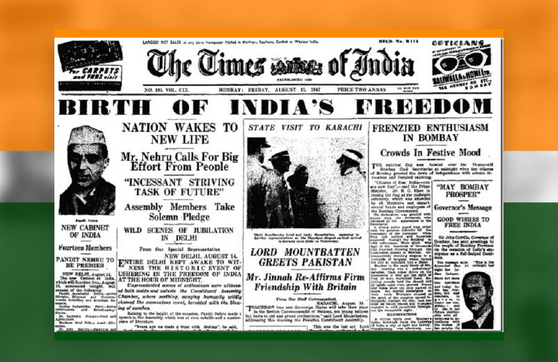 15 August Independence Day