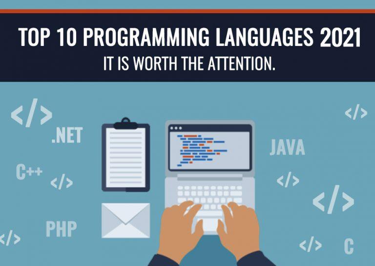 Top 10 Programming Languages 2021