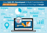 How SAG IPL Developed A Multi Functionality Gen GST Software and Ranked on First Page of Google