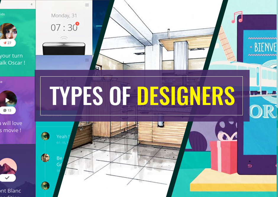 What Are The Different Types Of Designers Are There In The World