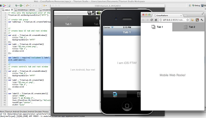 Appcelerator Mobile App Development