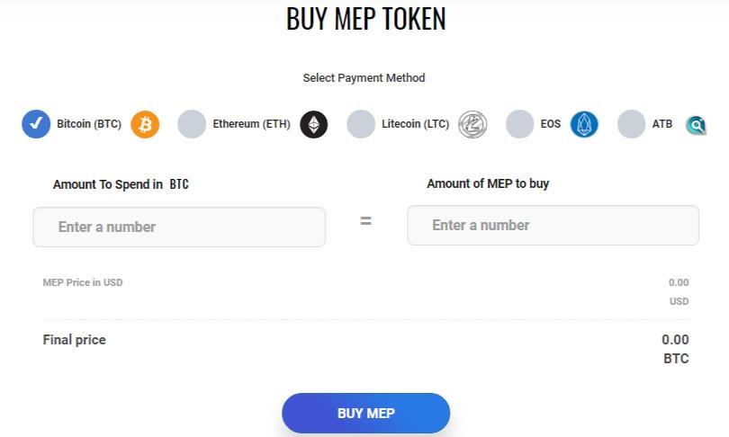 MEP tokens