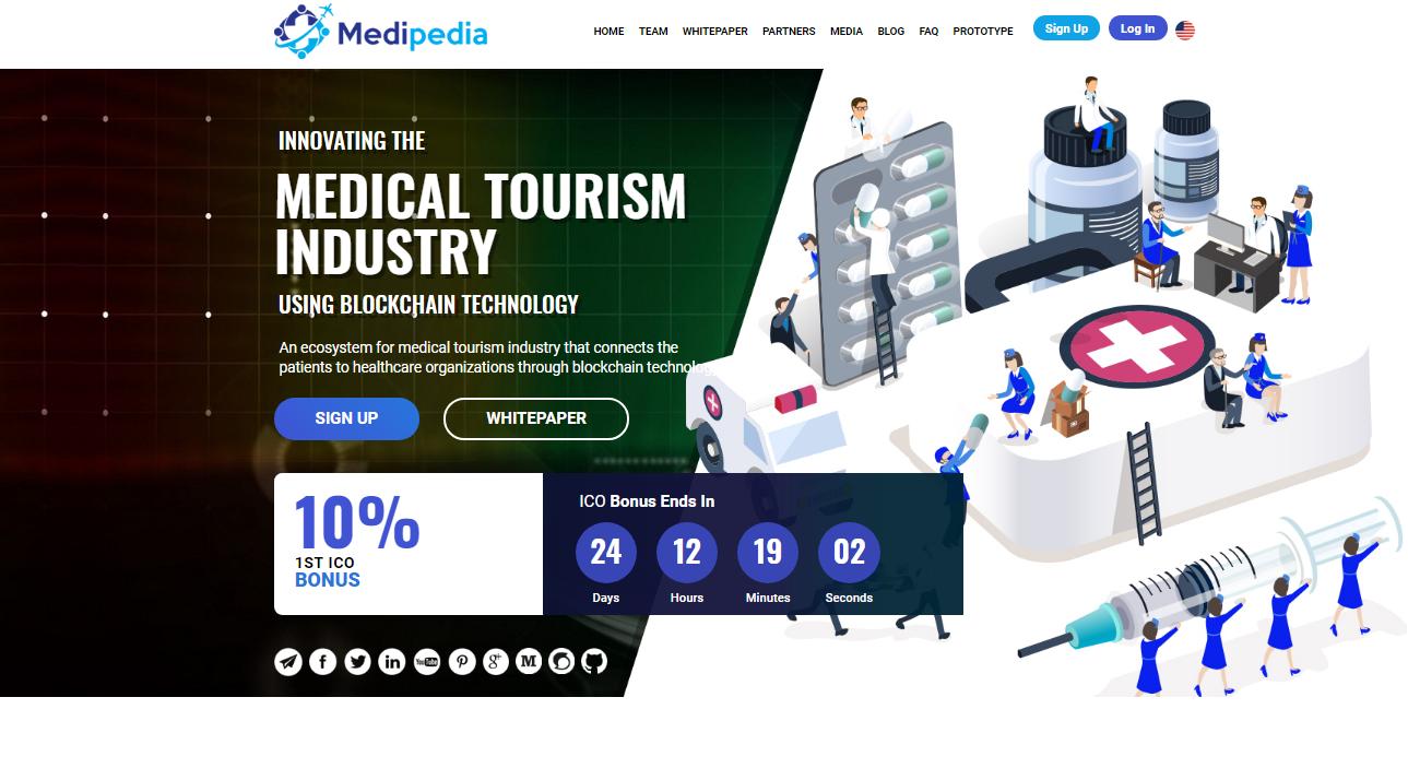 ICO Website Designing