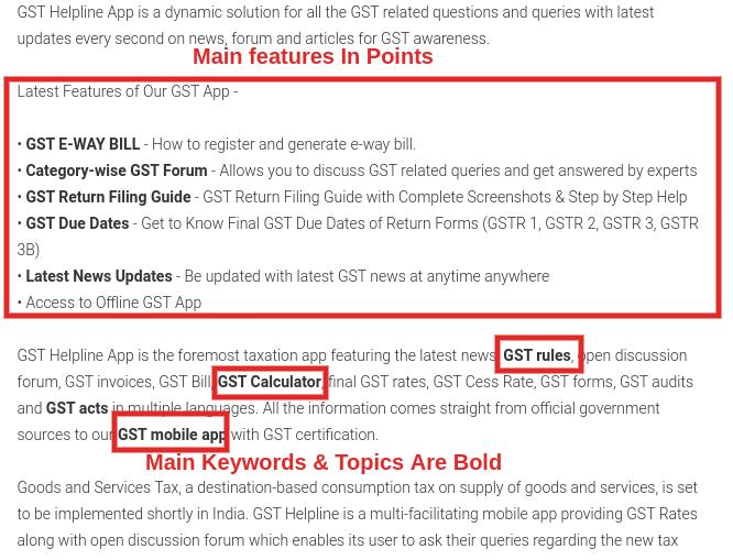 Image of App Description