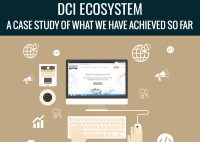 DCI Ecosystem: A Case Study of What We have Achieved So Far