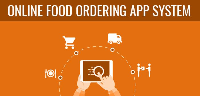 Online Food Ordering App System