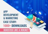 App Development & Marketing Case Study: 1000+ Downloads Boosted Like A Rocket