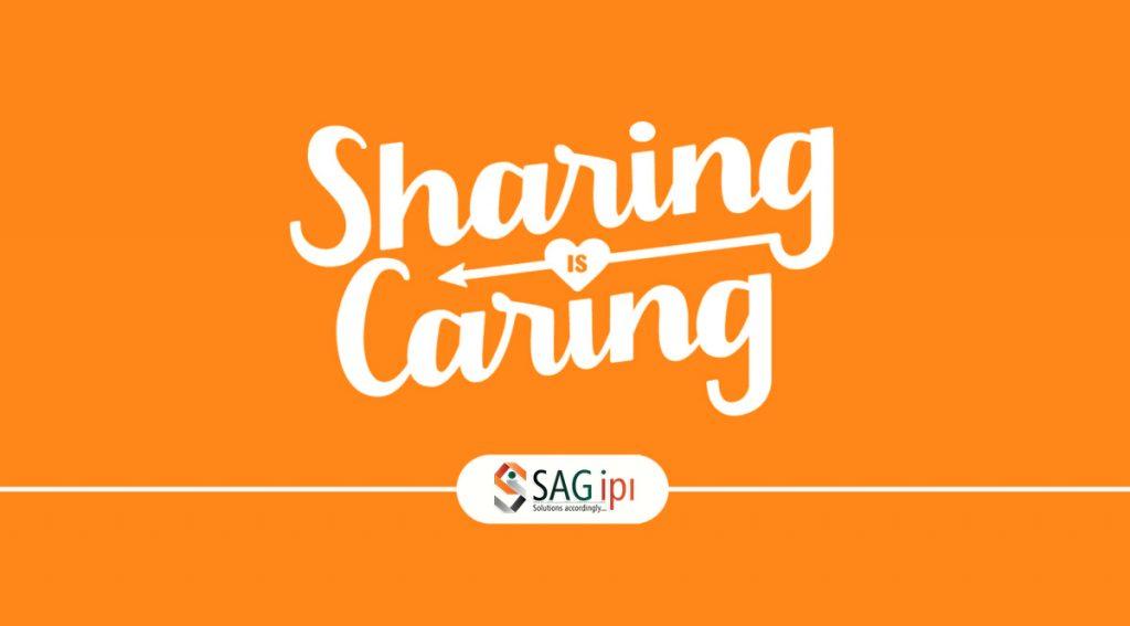 Sharing is caring sagipl
