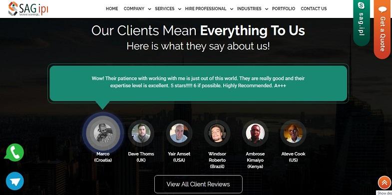 SEO  Client Reviews