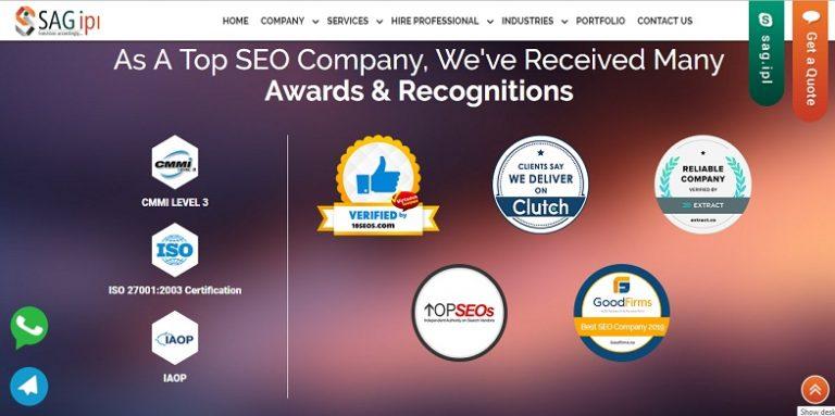 SEO Company - SAG IPL