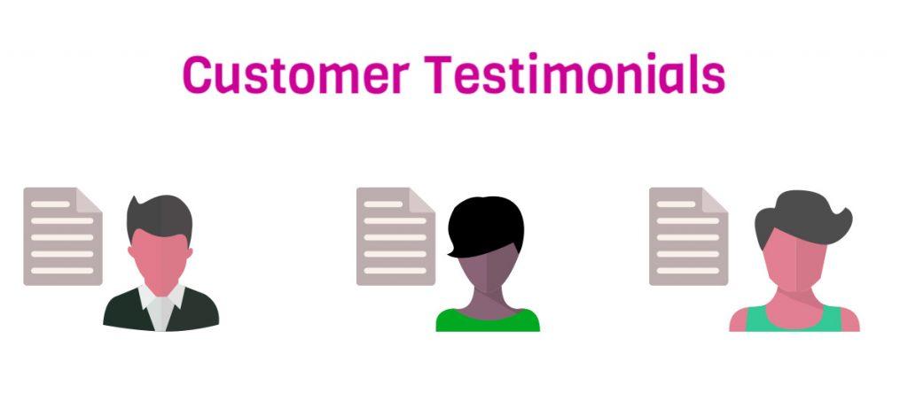 Include user testimonials