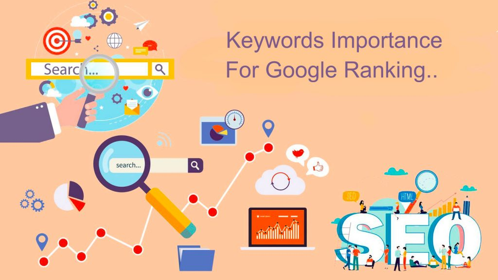 Keywords important for Google Ranking