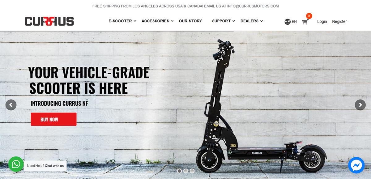 CurrusMotors Website Design & Development
