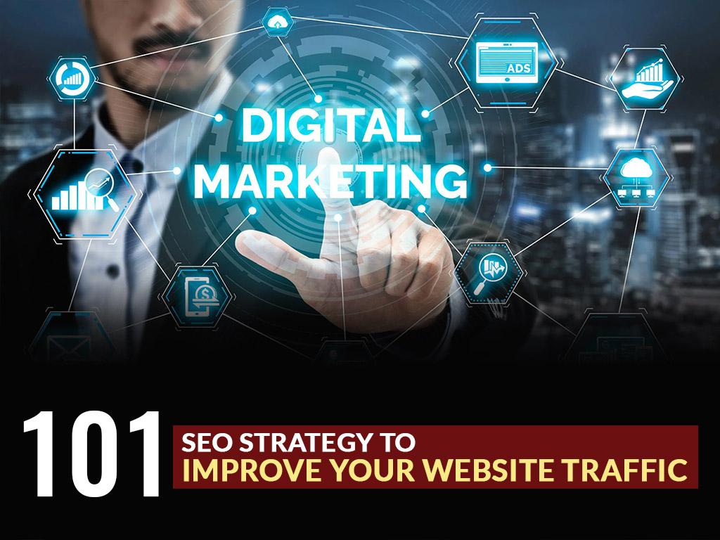 101 SEO Strategy to Improve Website Rank
